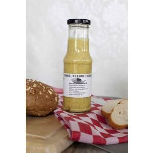 Honing-dille mosterdsaus 200 gram