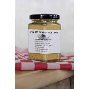 Zwarte bessen mosterd 200 gram